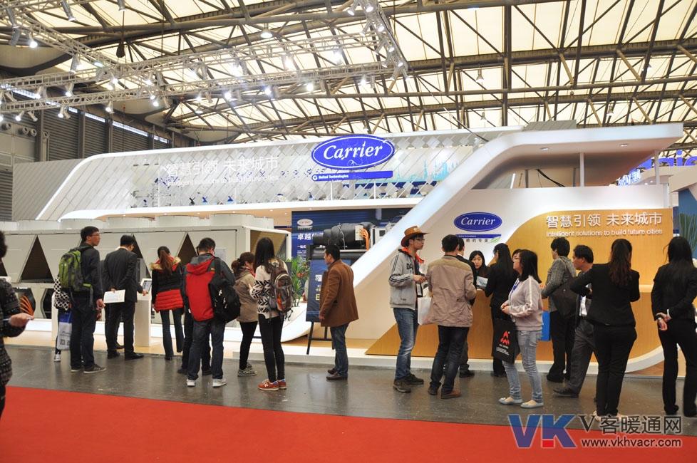 高清图:2015年中国制冷展—开利产品