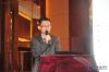 东芝空调销售技术经理潘军介绍产品技术