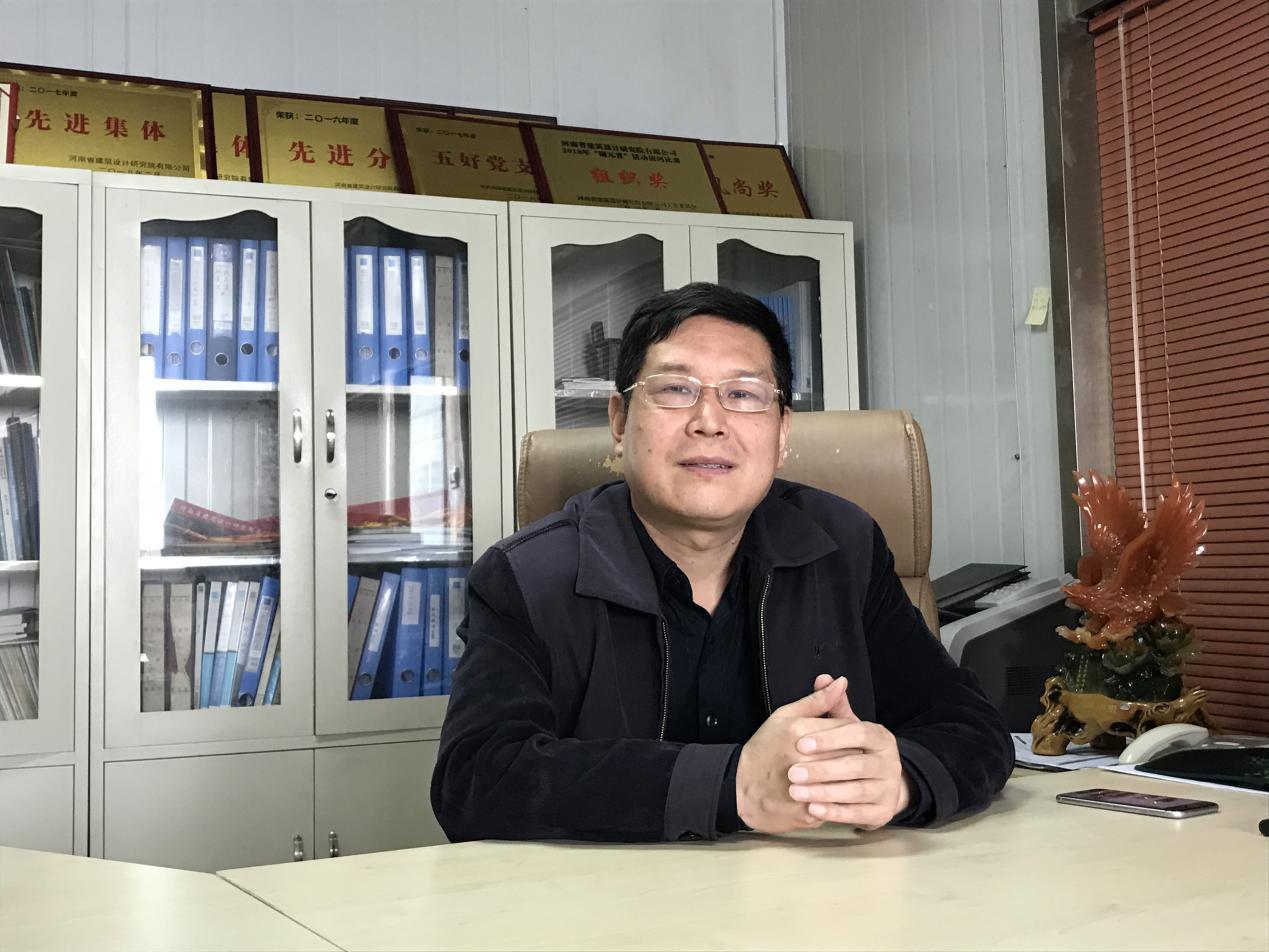 V客暖通网专访河南省建筑设计研究院有限公司暖通专业主任工程师董学军