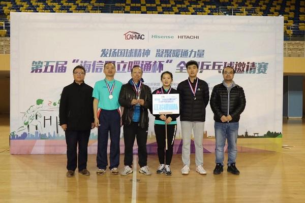 斗志昂扬,江苏省制冷学会代表队全国暖通空调乒乓球邀请赛再创佳绩!