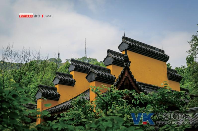 案例丨三菱重工空调KX6系列与千年古禅寺的完美融合